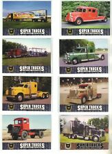 CAT SCALE COLLECTORS SUPER TRUCKS SERIES 9 NINE LIMITED EDITION TRADING CARD PO
