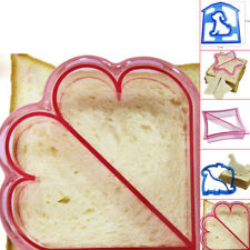 Kids DIY Sandwich Toast Cookie Mold Cake Bread Biscuit Food Cutter Mould Funny G