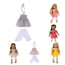 Trendy Braces Skirt & Leggings for 18inch American Girl Doll Clothes Accs
