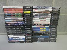 "NINTENDO GAMECUBE ""YOU PICK"" GAME LOT PREOWNED GAMES"