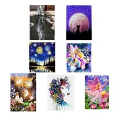 Fairy Girl DIY Diamond Painting Embroidery Cat Cross Stitch Kit Home Decor