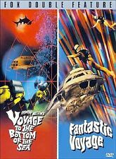 (1) VOYAGE TO THE BOTTOM OF THE SEA/FANTASTIC VOYAGE DVD   2000  DOUBLE FEATURE