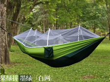 Camping Double Person Travel Outdoor Tent Hanging Hammock Bed With Mosquito Net