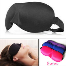 Travel 3D Eye Mask Sleep Soft Padded Shade Rest Relax Natural Sleeping Blindfold