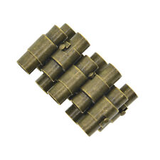 10pcs Leather Kumihimo Glue In Magnetic Clasp Slide Lock Bracelet Cord Ends