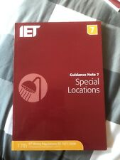 IET Guidance Note 7 Special Locations