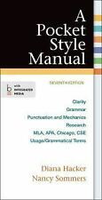 A Pocket Style Manual by Diana Hacker and Nancy Sommers (2014, Paperback)