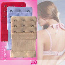 10×3 Hooks Elastic Bra Buckle Extender Extension Underwear Strap Replacement CA