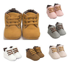 Toddler Baby Infant Unisex Soft Sole Leather Shoes Boy Girl Toddler Shoes Nice