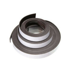 12*2mm 1m/2m/5m Flexible Rubber Self Adhesive Magnet Magnetic Tape Strip