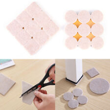 18Pcs/Set Floor Furniture Wall Chair Scratch Protector Felt Round Pads TCAO