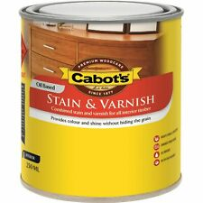 Cabot's Jarrah Stain And Varnish - USA BRAND