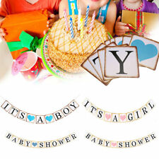 Baby Shower Its a Boy Girl Banner Party Decorations Supplies Christening Favors