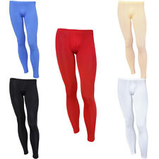 Men's Silky Lingerie See Through Lounge Pants Tights Underwear Trousers Pajamas