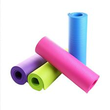 4 Colors Outdoor 4MM Foldable Exercise Yoga Mat Non-slip Thick Pad Fitness