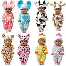 New Baby Born Doll Clothes Cartoon Set for 18 inch American Girl 43cm