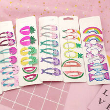 6Pcs Girls Baby Hair Clips Snaps Hairpin Kids Hair Bow Accessories Hairpin Gifts