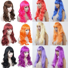 Colorful Cosplay Party Wig Fashion Women Ladies Halloween Anime Curly Wigs Fkh2