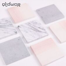 Creative Marble Color Self Adhesive Memo Pad Stone Style Sticky Notes Bookmark