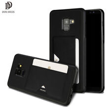 DUX DUCIS PU Leather Card Case for Samsung Galaxy A8 2018 Creidt Slot Wallet