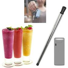 Collapsible Reusable Portable Stainless Straw Travel Outdoor Household Drink