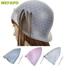 Hair Coloring Cap Dye Highlighting Hat Hook Frosting Tipping Tool Accessories