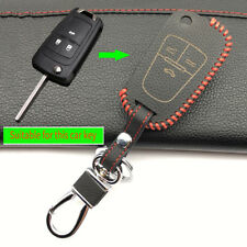 100% leather car key case car key cover for Opel Astra Corsa Insignia Meriva