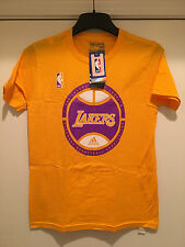 Los Angeles LAKERS Youth T-shirt in Yellow Color by Adidas