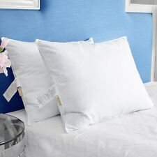 Puredown® Goose Feather & Down Bed Pillow Premier Queen King, SET OF 2