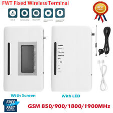 Telephone Call Phone Line Dialler Quad-band GSM Wireless Fixed Terminal Alarm