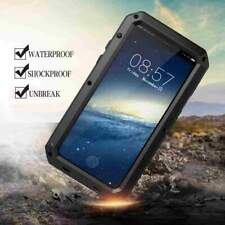 Heavy Duty Shockproof Waterproof Armor Aluminum Protective Case for iPhone X 10