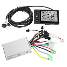 Electric Bicycle Controller LCD Display Panel Electric Bike Scooter Brushless