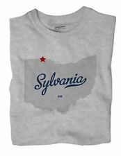 Sylvania Ohio OH T-Shirt Souvenir MAP