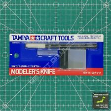 Tamiya Craft Tools 74040 Modeler's Knife /74075 Replacement Blade F/S FROM JAPAN