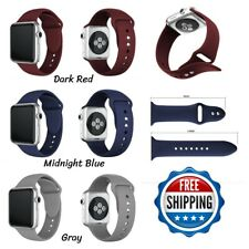 For Apple Watch Band Series 1 2 3 4 Sports Silicone Watch Strap Bands 42mm 38mm