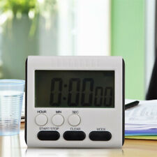 LCD Digital Large Kitchen Cooking Timer Count-Down Up Clock Loud Alarm Magnetic.