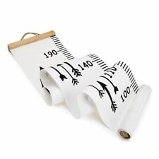 1 Pc Wooden Wall Hanging Baby Child Kids Growth Chart Height Measure Ruler Wall