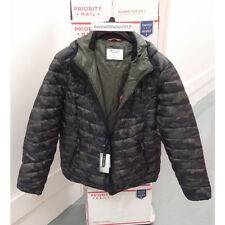 CHAMPION MENS PACKABLE PERFORMANCE INSULATED HOODED JACKET CAMO PRINT SIZE LARGE