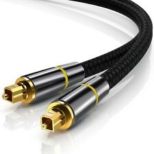 Optical Digital Audio Cable Toslink SPDIF Gold Plated Cord For TV PS4 PS3 Xbox