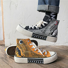 Men's Fashion Casual Sneakers Sports Leisure High Top Shoes Running Trainers New