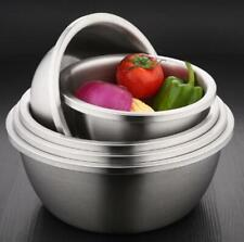Premium 304 Stainless Steel Mixing Bowls Set Nesting Bowls for Cooking Baking