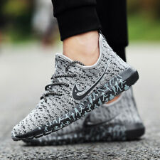 New Mens Fashion Casual Shoes Flyknit Sports Jogging Running Athletic Sneakers