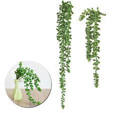 Fake Artificial Succulent Plant String Pearls Vine Fake Garland Hanging Display