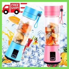 Personal Portable Blender Juicer Mix Blend Rechargeable Jet Wireless Squeezers