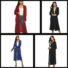 Loose Outwear Long Sleeve Sweater Jacket Womens Long Cardigan Knitted Casual