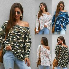 Sweater Knitwear Loose Casual Pullover T-Shirt Knit Shirt Long Sleeve Womens