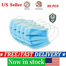 3 Ply 20/50/100 Anti Virus Disposable Face Surgical Dental Dust Mouth Cover