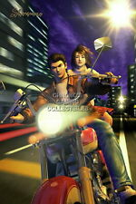 122319 Shenmue Ryo and Nozomi Sega DreamCast Decor LAMINATED POSTER DE