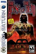 123436 The House of the Dead Sega Saturn Decor LAMINATED POSTER DE