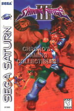 123541 Shining Force III 3 Sega Saturn Decor LAMINATED POSTER DE